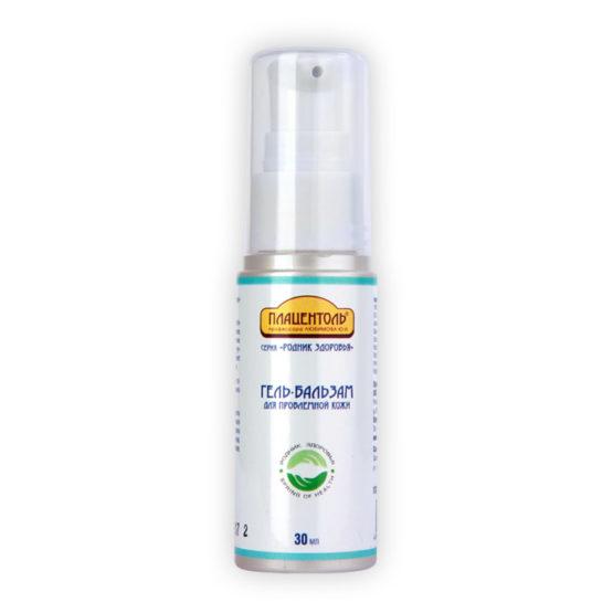 Гель-бальзам для проблемной кожи с экстрактом крапивы плацентоль родник здоровья уфа