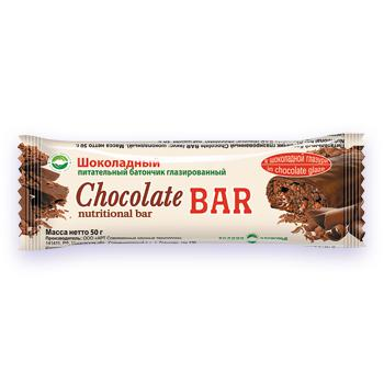 Протеиновый питательный батончик со вкусом шоколада Родник Здоровья Уфа